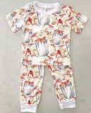 Velvet Fawn Two Piece Jammies - Bayou Baby - Let Them Be Little, A Baby & Children's Boutique