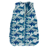 Kickee Pants Print Quilted Sleeping Bag - Oasis Military/Navy Forestry
