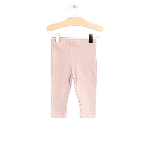 City Mouse Crop Legging - Peach Blossom