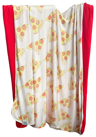 Birdie Bean Double Layered Blanket - Pizza Party