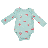 Angel Dear Long Sleeve Bodysuit - Popcorn - Let Them Be Little, A Baby & Children's Boutique