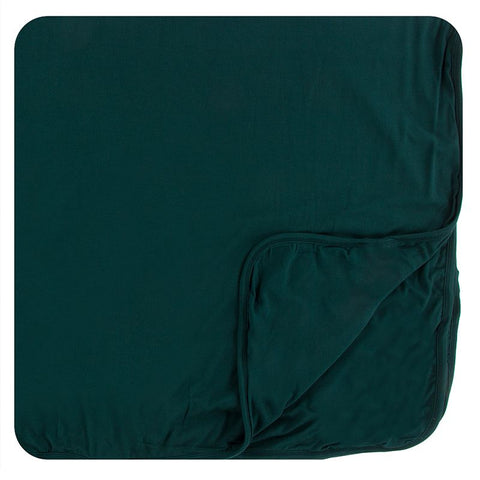 Kickee Pants Solid Toddler Blanket - Pine