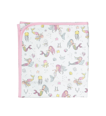 Baby Noomie Double Layer Blanket - Mermaids