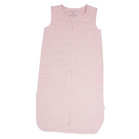 Sweet Bamboo Sleep Sak - French Terry Pink Chalk Lines