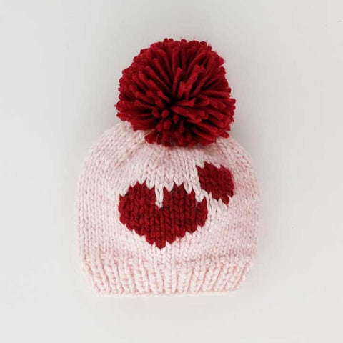 Huggalugs Knit Beanie - Sweetheart - Let Them Be Little, A Baby & Children's Boutique
