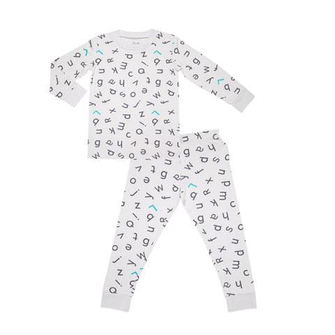 Lark Adventurewear Ultimate PJ Set - Grey ABC