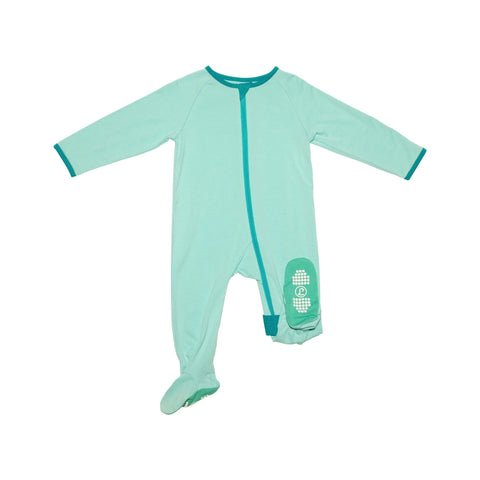 Lark Adventurewear Ultimate Zip Footie - Blue Lagoon / Pacific