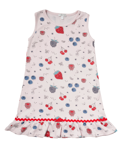 Baby Noomie Sleeveless Dress - Berries