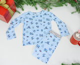 Bellabu Bear 2 piece PJ Set - Winter Wonderland