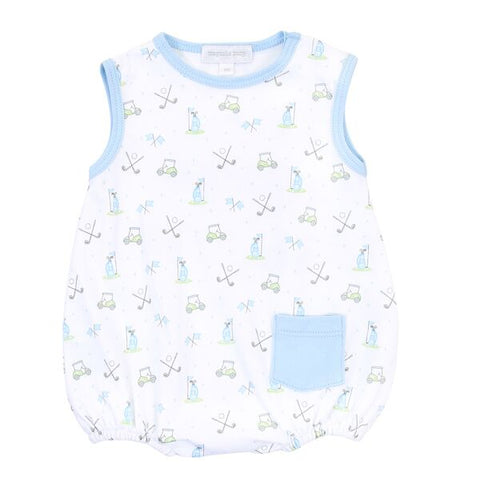 Magnolia Baby Printed Sleeveless Bubble - Putting Around