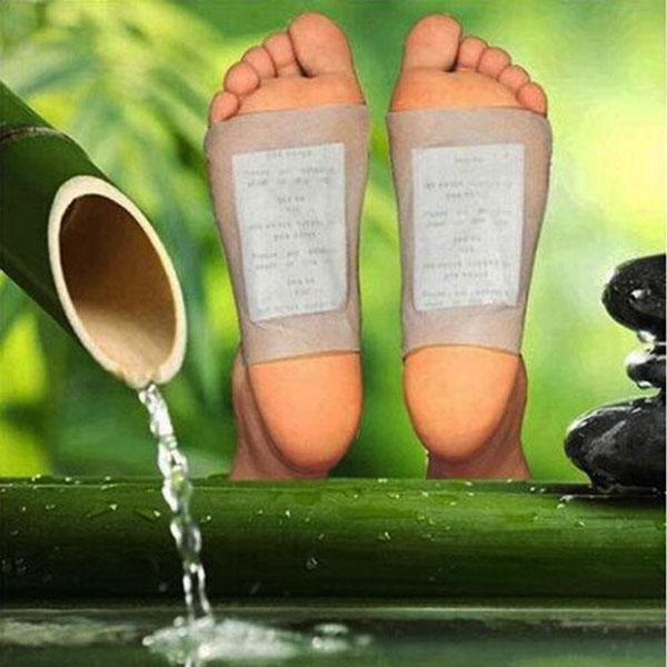 Foot Detox Bamboo Pads (10 Pads/Set) - SHOPYRO