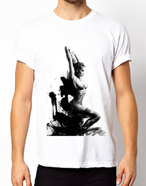 Brushed Naked Girl T-Shirt