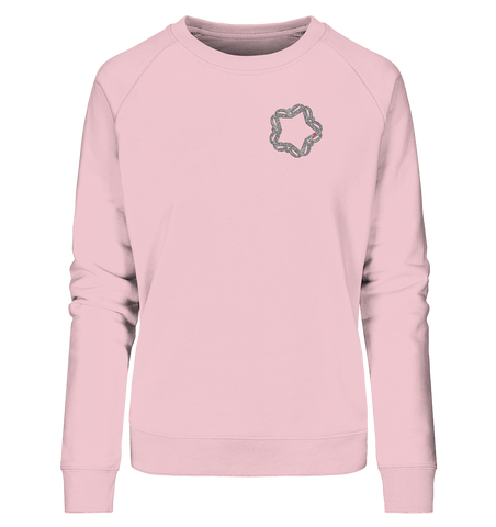 festiwillstar on Chest - Ladies Organic Sweatshirt