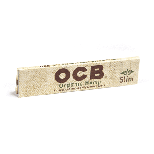 OCB Rolling Papers - King Slim Hemp