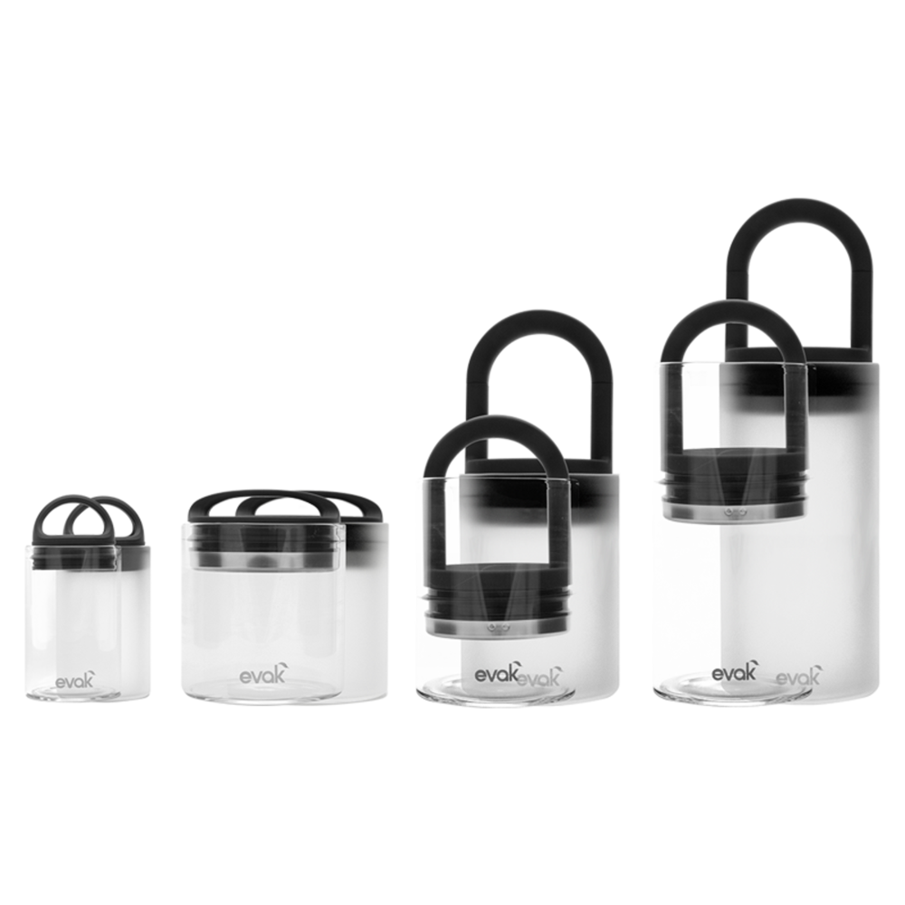 Evak Glass Cannabis Storage Container