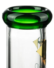"Load image into Gallery viewer, Diamond Glass 13"" Eight Arm Tree Perc Beaker Mouthpiece"
