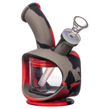 Load image into Gallery viewer, Silicone Kettle Bubbler - Deadpool - dab rig