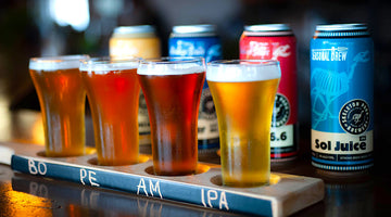 Try-and-Buy: Beer Flight Plus Mixed Pack for Less