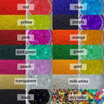 Pack of 2500 LARGE Water Beads (12 Colours Available)