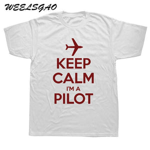 KEEP CALM I'M A PILOT tshirt