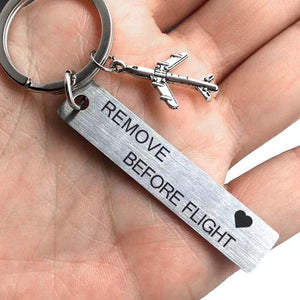 Remove before Flight Metal bagage tag
