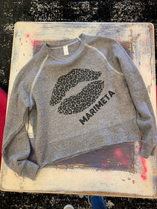 Leopard Lips Custom Sweatshirt