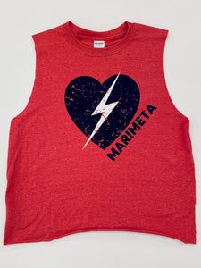 Lightning Heart Custom Camp Shirt