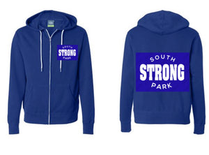 SOUTH PARK Strong Zip Hoodie-STAFF ONLY