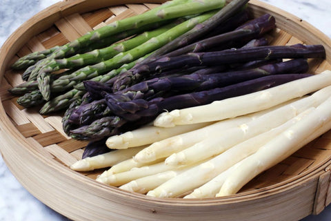 The Difference Between White Green And Purple Asparagus Nourish Your Soul Fresh Produce