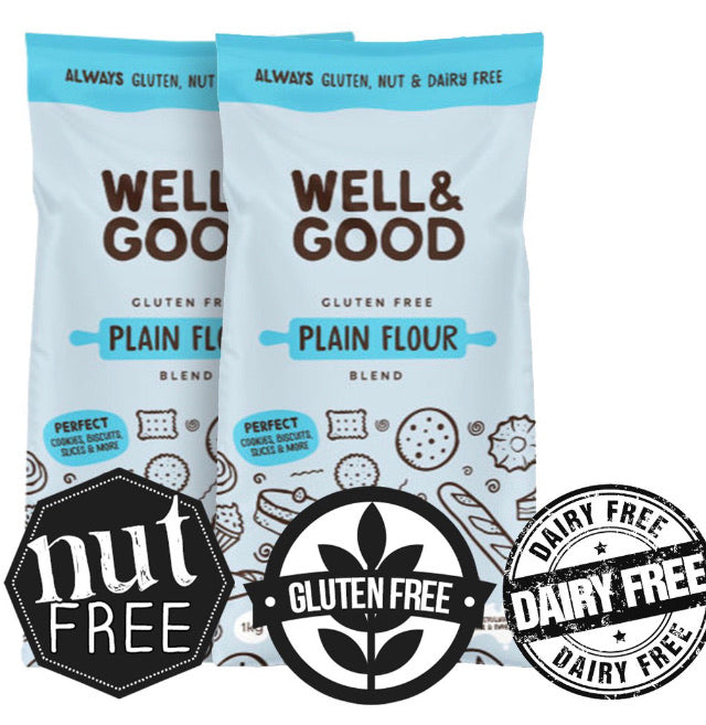 Well & Good Gluten Free Plain Flour Blend 1kg