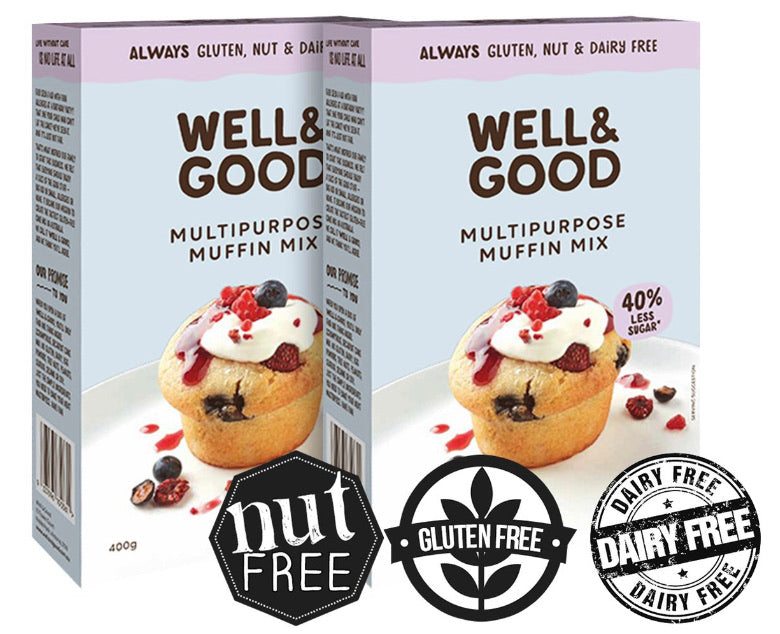 Well & Good Gluten Free Multipurpose Muffin Mix 400g