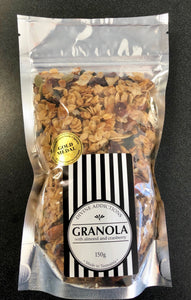 Granola 150g (almond and cranberry)