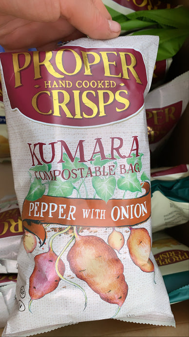 PROPER CRISPS - Kumara pepper with onion
