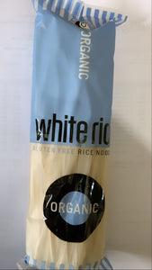 White rice noodles (organic)