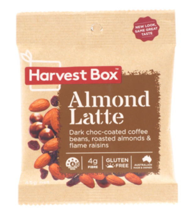 HARVEST BOX - Almond latte