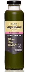 Simple Superfood+Prebiotic Juice – Hemp