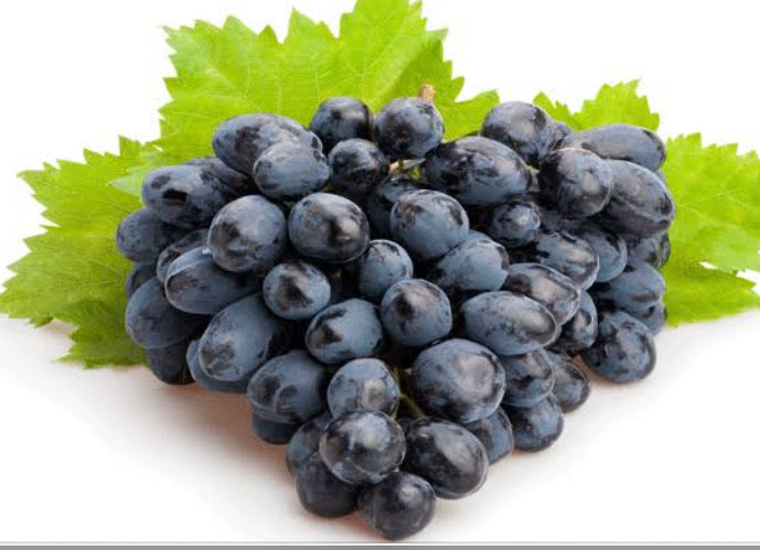 Black grapes (seeds)