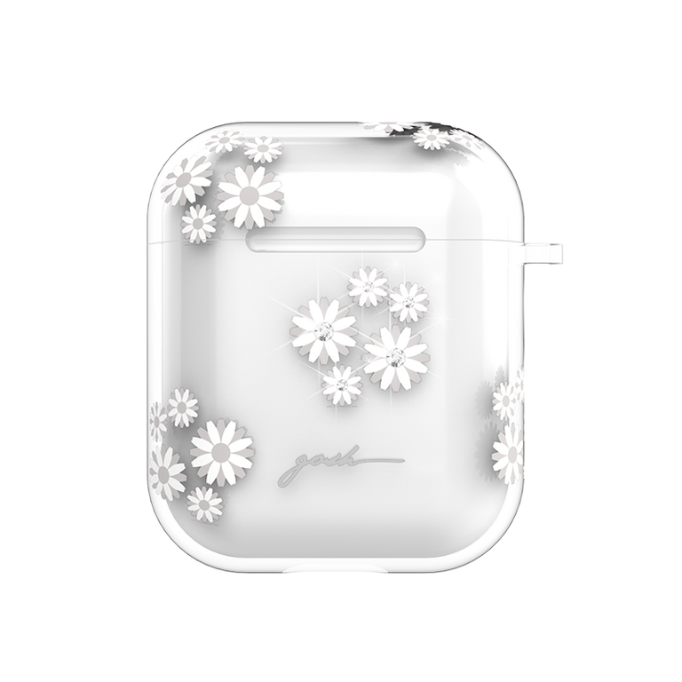 gosh Airpods case Anti-Shock Drop Protection Daisies Sparkle