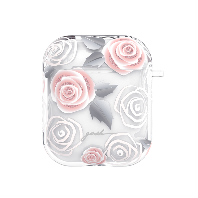 gosh Airpods case Anti-Shock Drop Protection Rosy Love