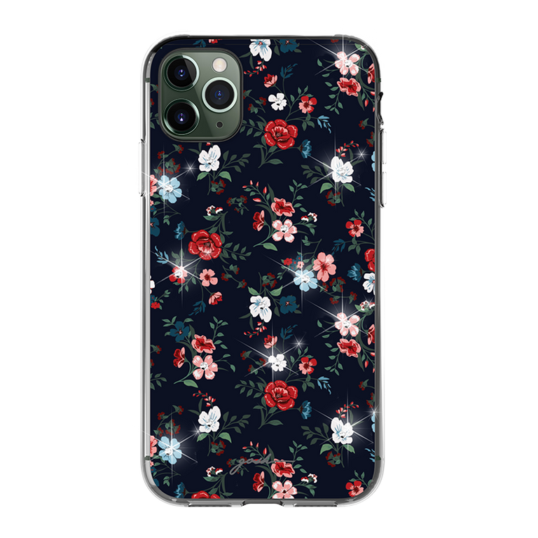 gosh iPhone 11 Case Ultra Hybrid Anti-Shock Drop Protection COTTAGE BLOOM