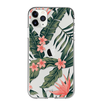 gosh iPhone 11 Case Ultra Hybrid Anti-Shock Drop Protection TROPICAL FLORA