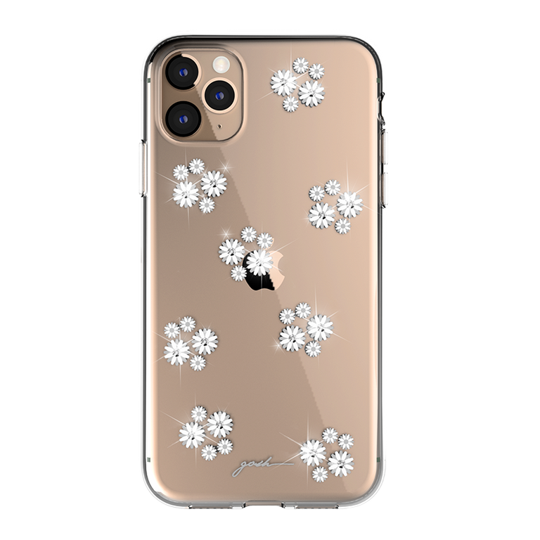 gosh iPhone 11 Case Ultra Hybrid Anti-Shock Drop Protection DIASIES SPARKLE