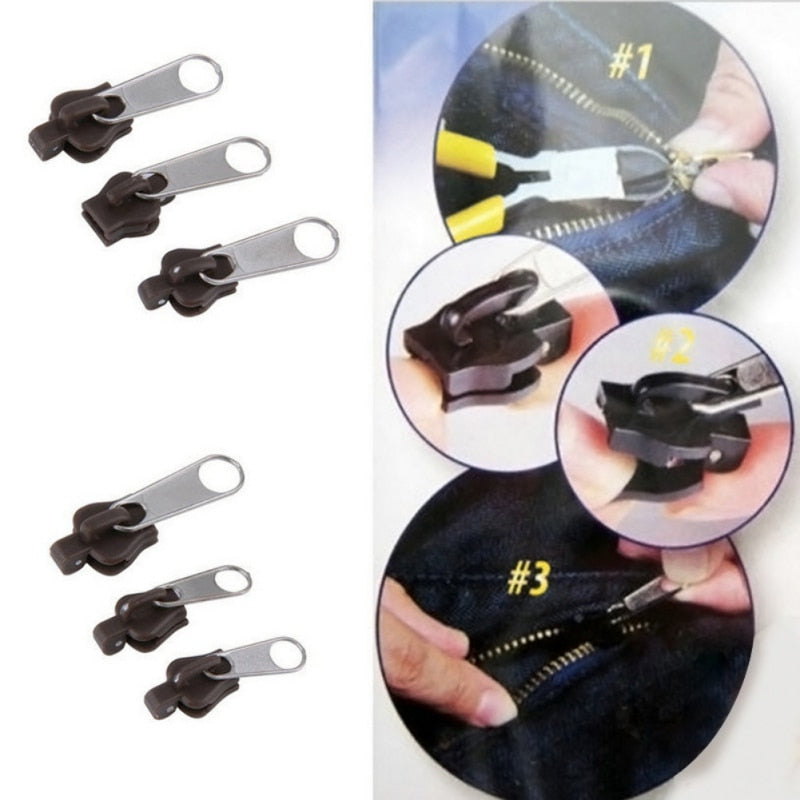 MagicZipper™ - Instant Zipper Slider Replacement (6pcs)