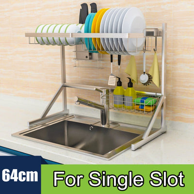 Over-Sink Dish Drying Rack