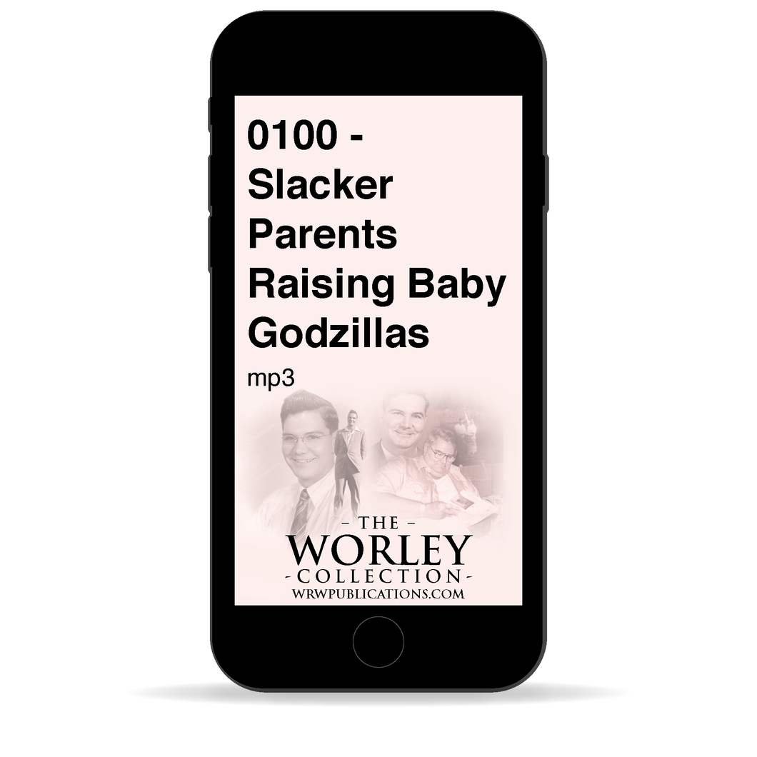 0100 - Slacker Parents Raising Baby Godzillas