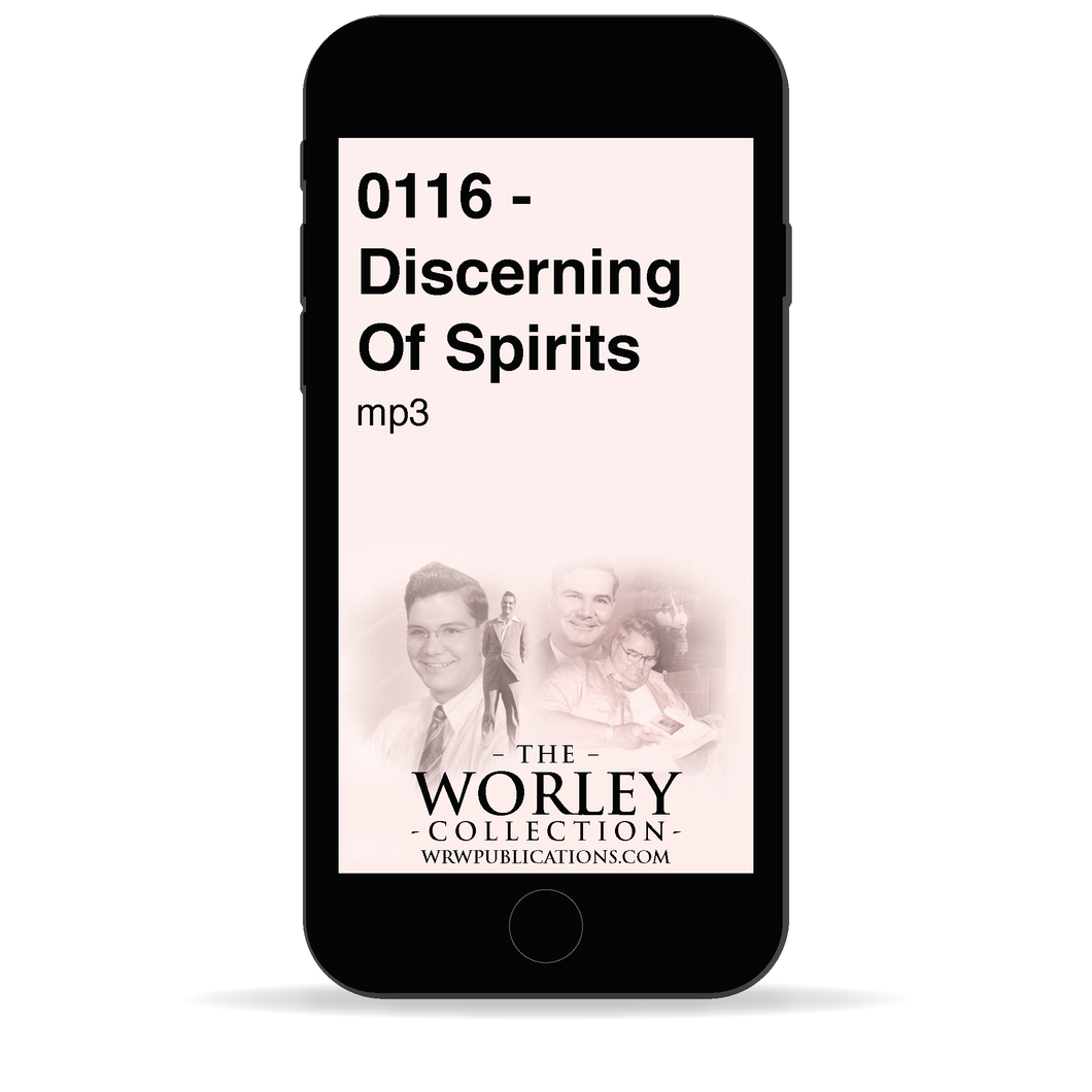 0116 - Discerning Of Spirits