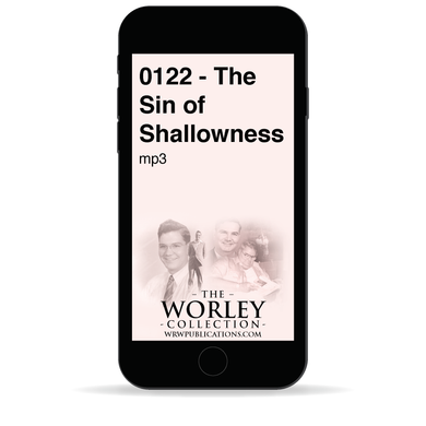0122 - The Sin of Shallowness