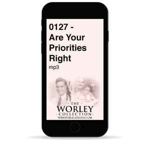 0127 - Are Your Priorities Right