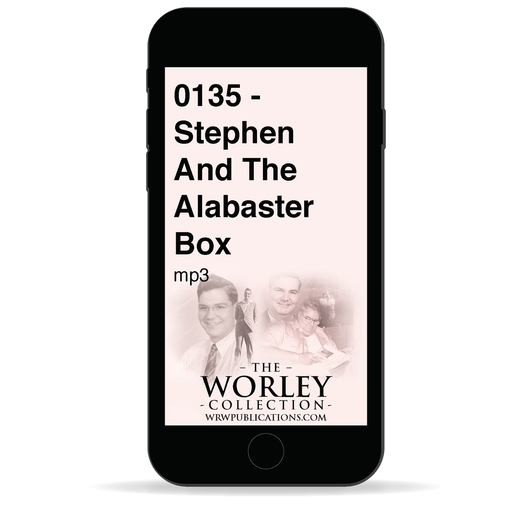0135 - Stephen And The Alabaster Box