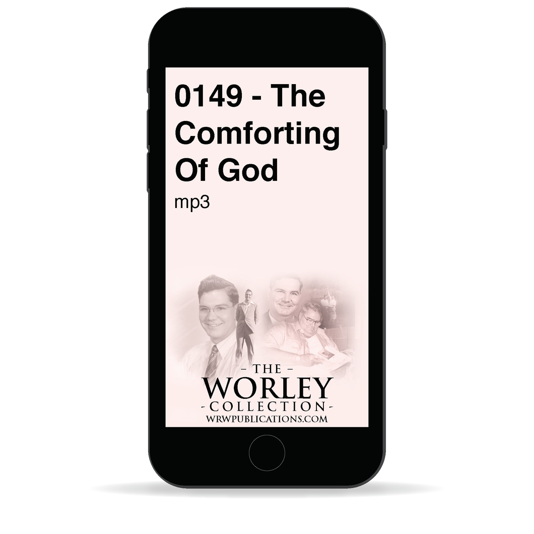 0149 - The Comforting Of God